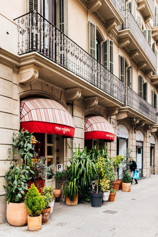 Exterior view of Praktik Garden Barcelona