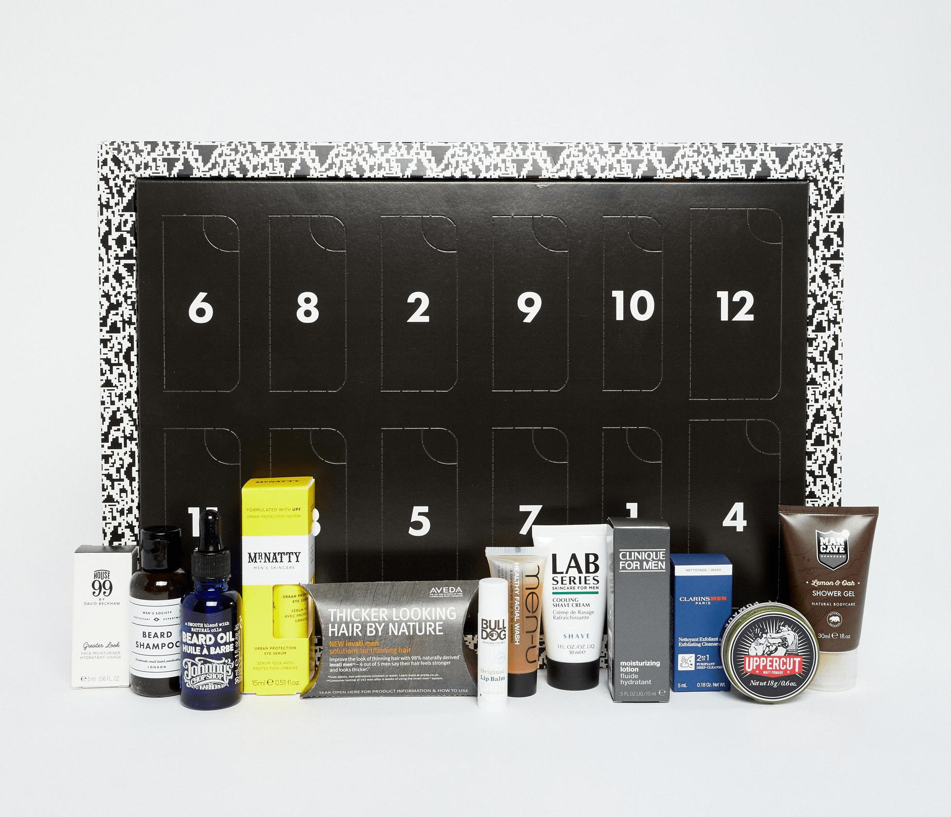 Jeff On The Road - Holidays - Gifts - The 10 Best Advent Calendars For Men - ASOS The Grooming Advent Calendar