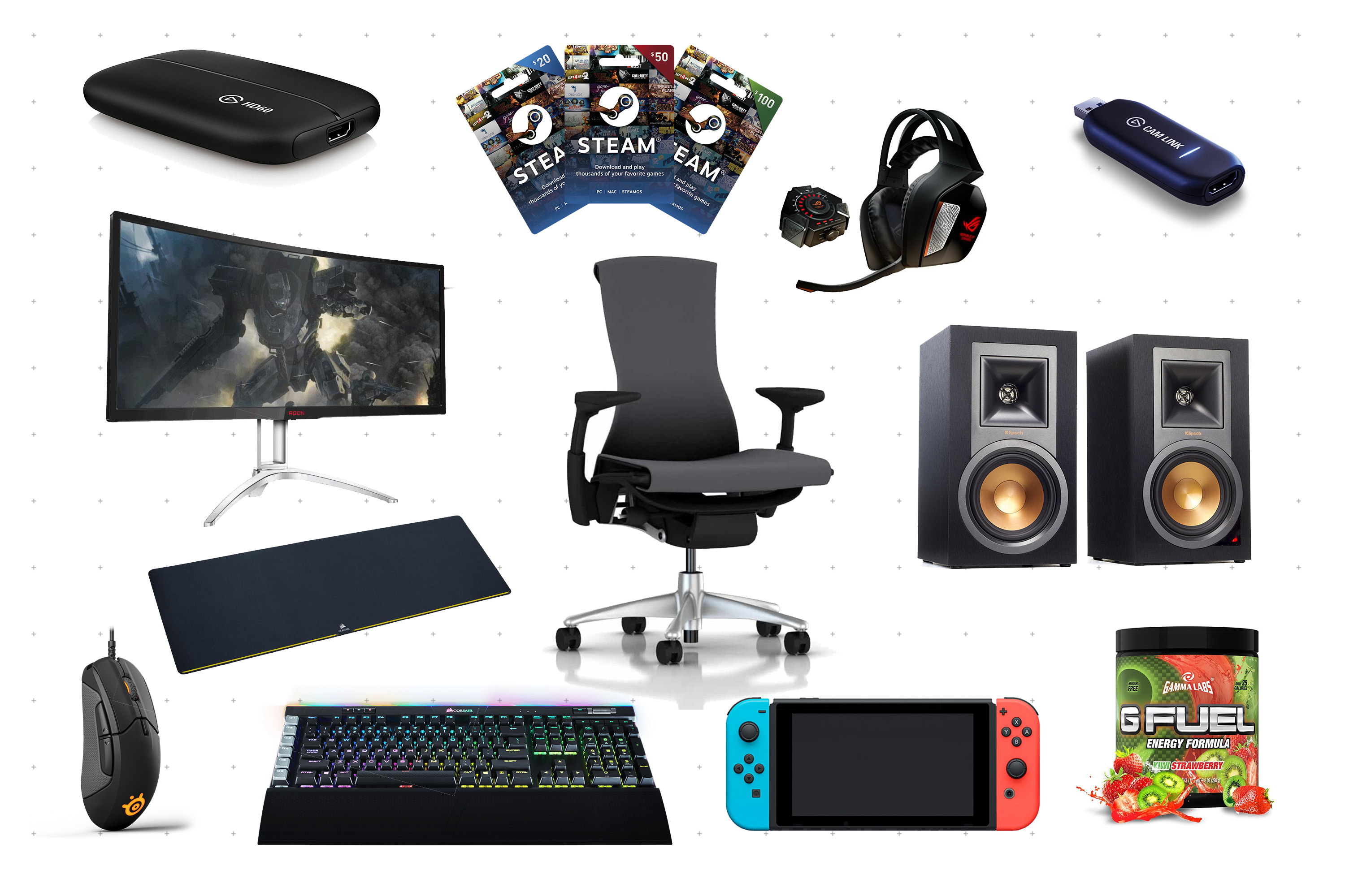 [:en]Gift Ideas for Gamers & Streamers — Jeff On The Road[:]