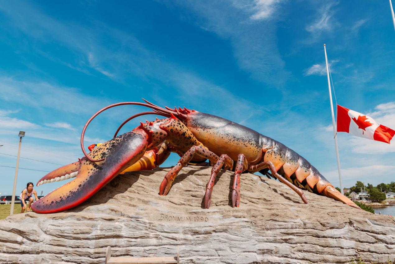 Shediac Giant Lobster — Le Sud-Est du Nouveau-Brunswick — Expérience Acadie — Travel — Jeff On The Road