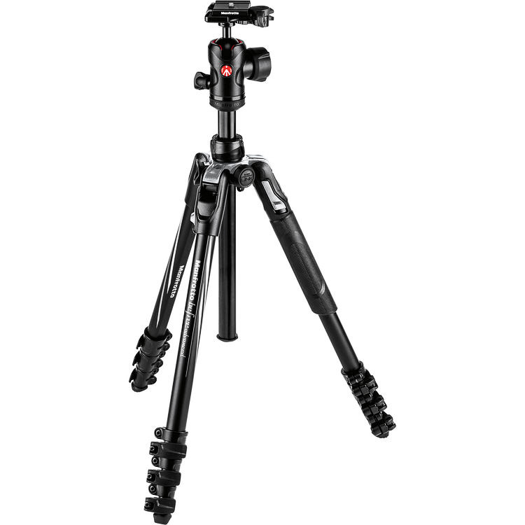 Photography Gear List 2019 — Manfrotto Befree  — Jeff Frenette Photography — Jeff On The Road — Photographer — Blogger
