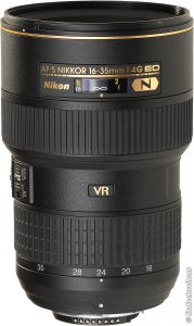 Photography Gear List 2019 — Nikon AF-S NIKKOR 16-35mm f/4G ED VR Lens — Jeff Frenette Photography — Jeff On The Road — Photographer — Blogger