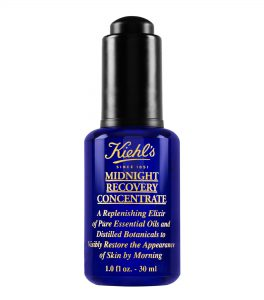 Winter Skincare Routine — Kiehl's Midnight Recovery Concentrate — Jeff On The Road