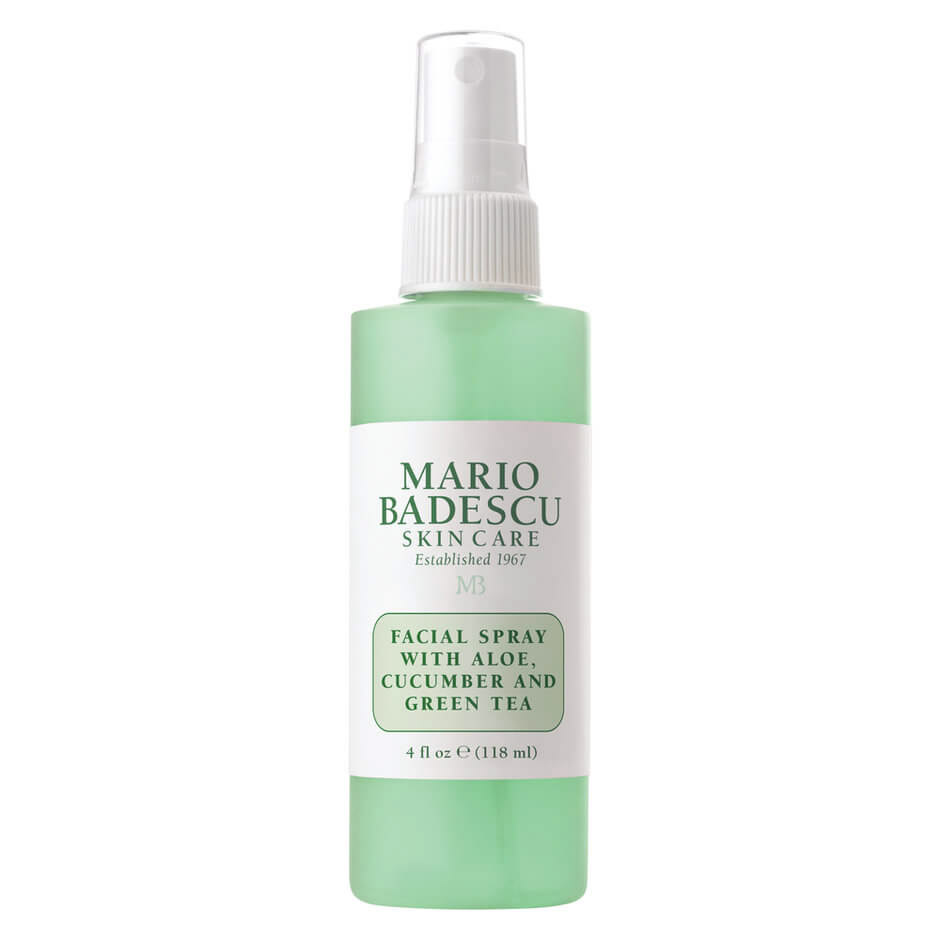 Winter Skincare Routine — Mario Badescu Facial Spray with Aloe Cucumber and Green Tea — Jeff On The Road