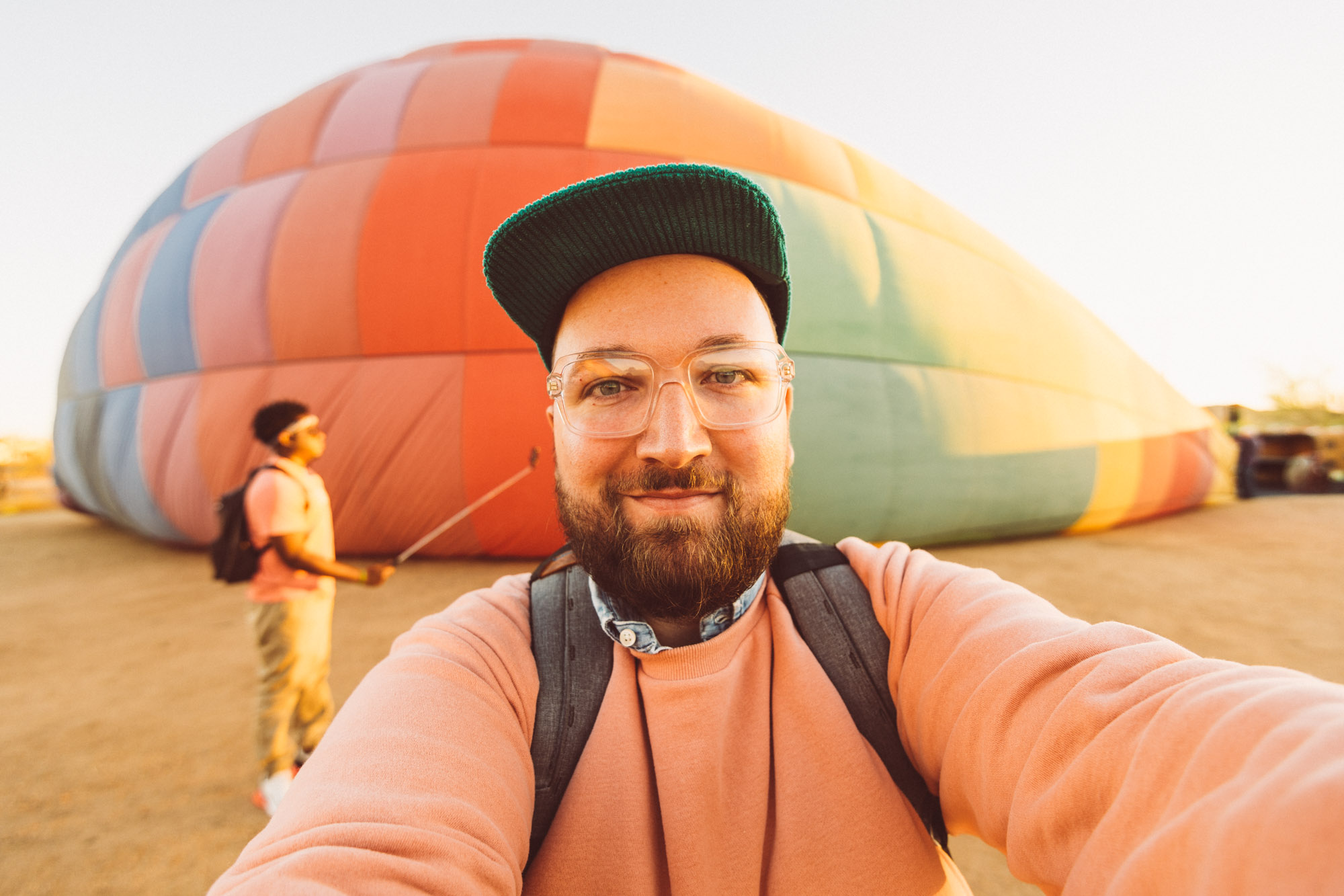 Things To Do In Phoenix — Hot Air Balloon Ride With Hot Air Expeditions At Sunrise — Jeff On The Road— All photos are under Copyright  © 2019 Jeff Frenette Photography / dezjeff. To use the photos, please contact me at dezjeff@me.com.