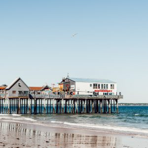 Pier - Old Orchard Beach - Maine - Best Things To Do In Maine - Jeff On The Road - All photos are under Copyright  © 2019 Jeff Frenette Photography / dezjeff. To use the photos, please contact me at dezjeff@me.com.