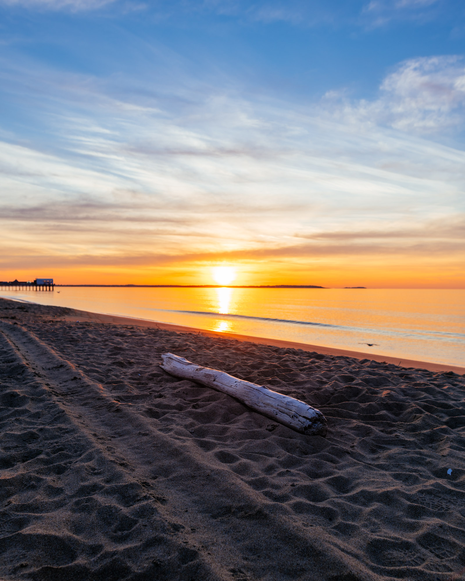 Sunrise - Old Orchard Beach - Maine - Best Things To Do In Maine - Jeff On The Road - All photos are under Copyright  © 2019 Jeff Frenette Photography / dezjeff. To use the photos, please contact me at dezjeff@me.com.