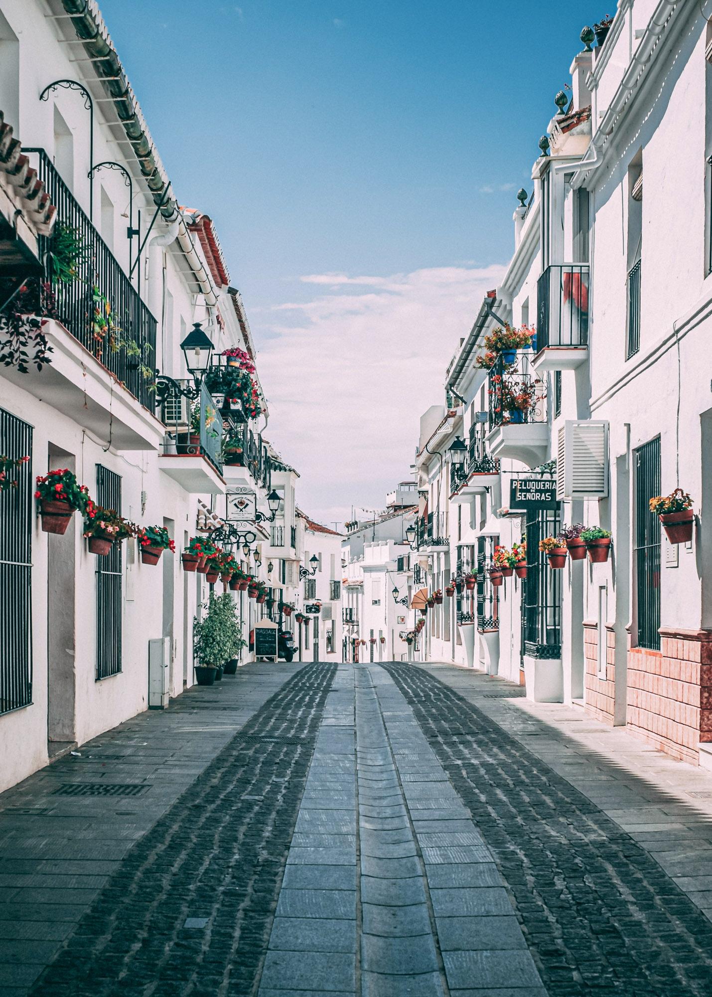 Spanish Streets of Mijas - Costa Del Sol - Espagne - Daniel Norris