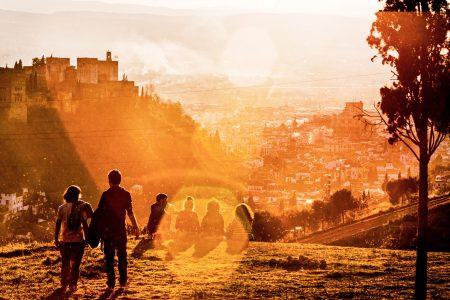 Coucher de soleil à Granada - Costa Del Sol - Espagne - Victoriano Izquierdo