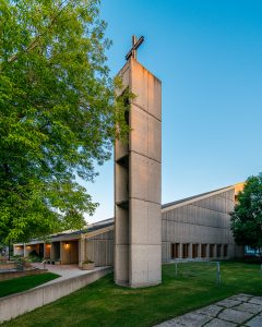 Brutalist Architecture Church — Winnipeg — Manitoba — Jeff Frenette Photography