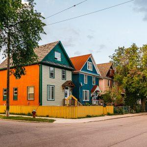 Bike ride through North River Heights and Wolseley — Winnipeg — Manitoba — Jeff Frenette Photography