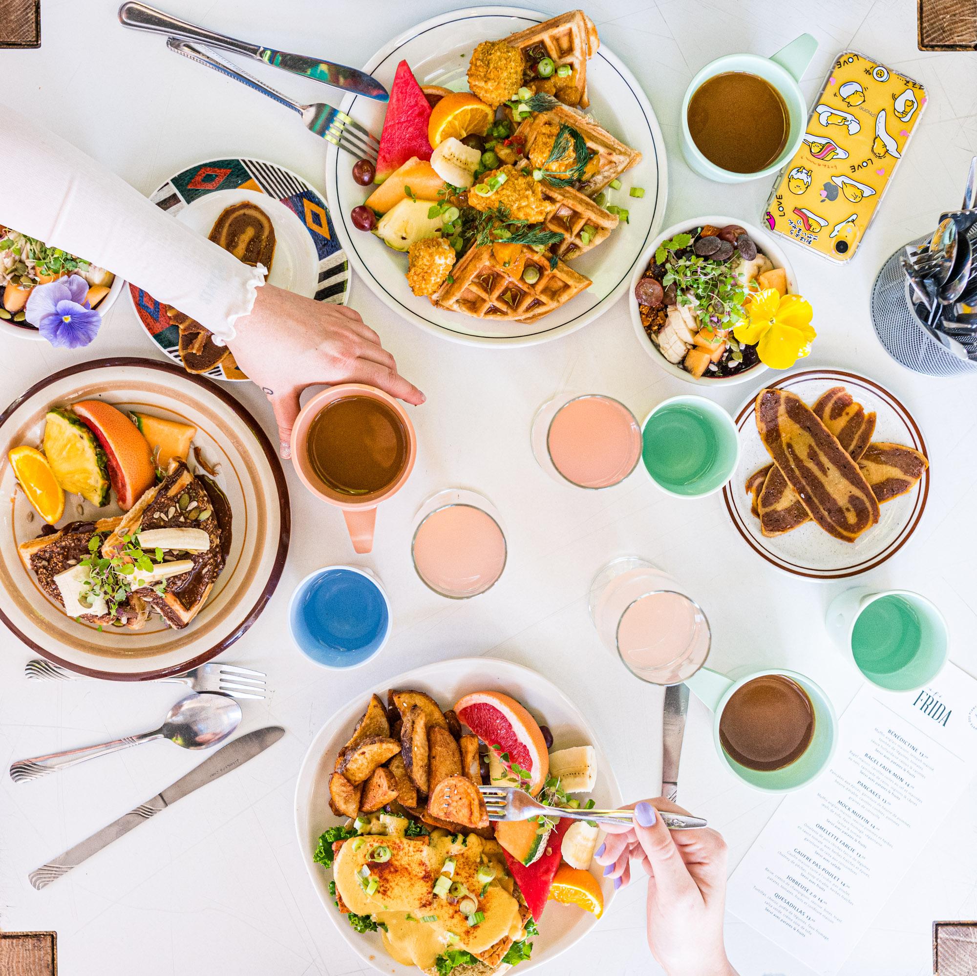 Quoi faire à Trois-Rivières — Déjeuner chez Café Frida — Vegan — Trois-Rivières — Jeff Frenette Photography
