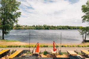 Quoi faire à Trois-Rivières — Lunch et sports nautiques chez Maikan Aventure / Resto Bar Le Chack — Jeff Frenette Photography