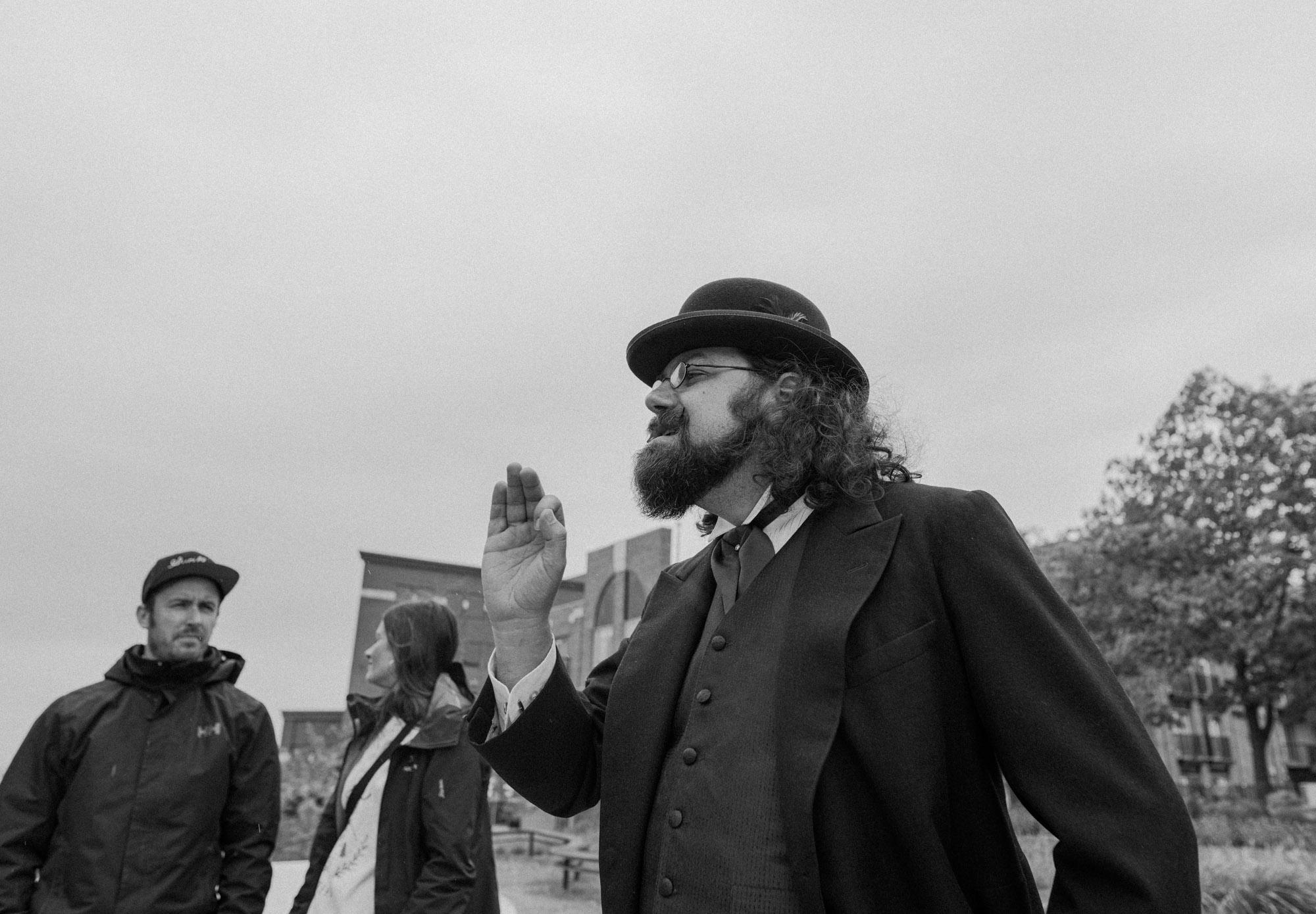 Quoi faire à Trois-Rivières — Visite guidée historique avec Baptiste Leblanc — Jeff Frenette Photography