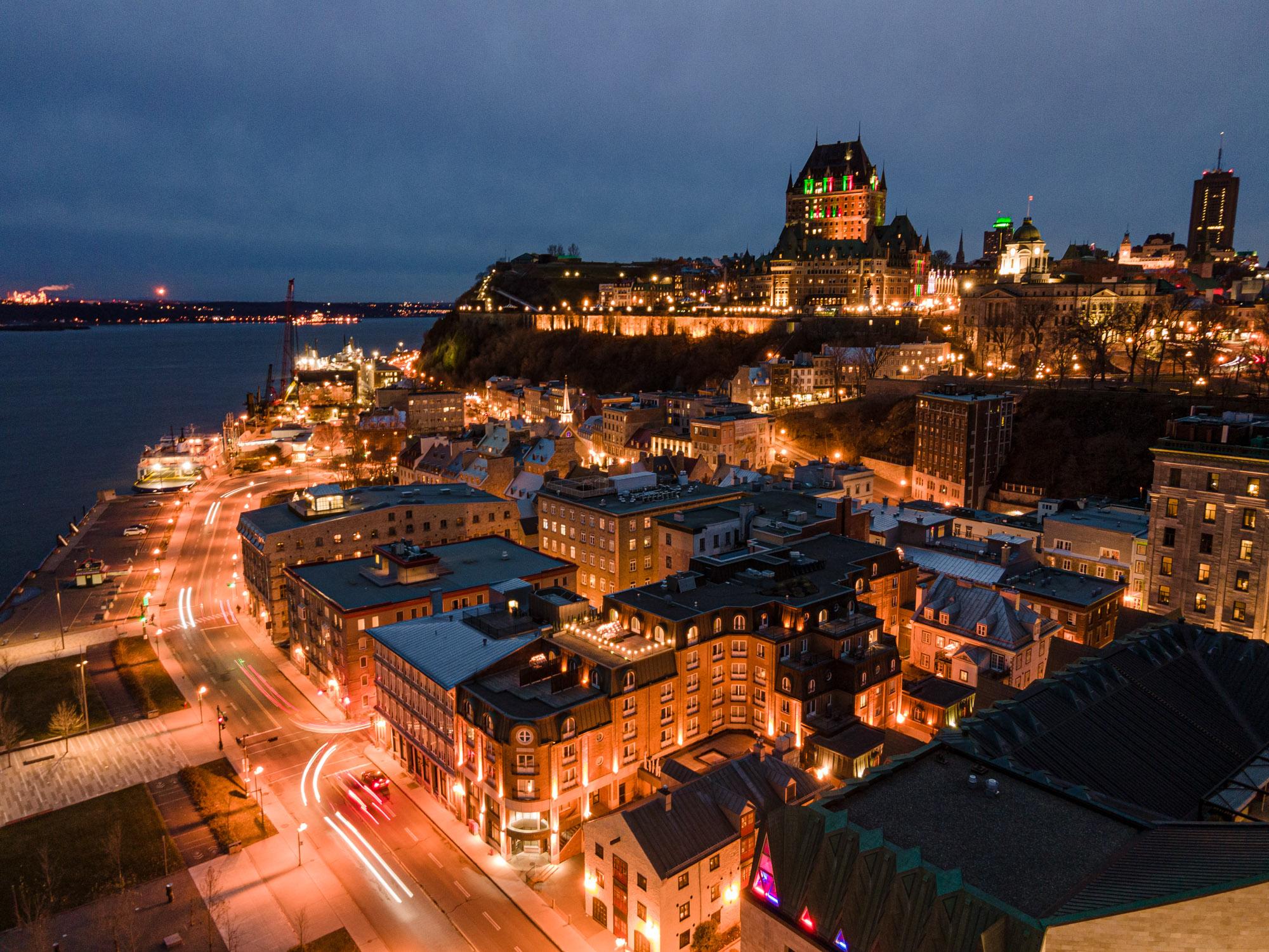 Souper sous les étoiles - Auberge Saint-Antoine - Relais & Châteaux - Québec